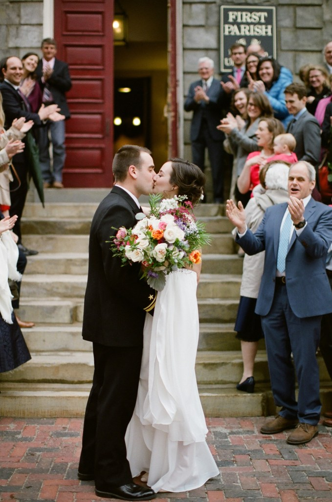 First Parish Portland Maine Wedding