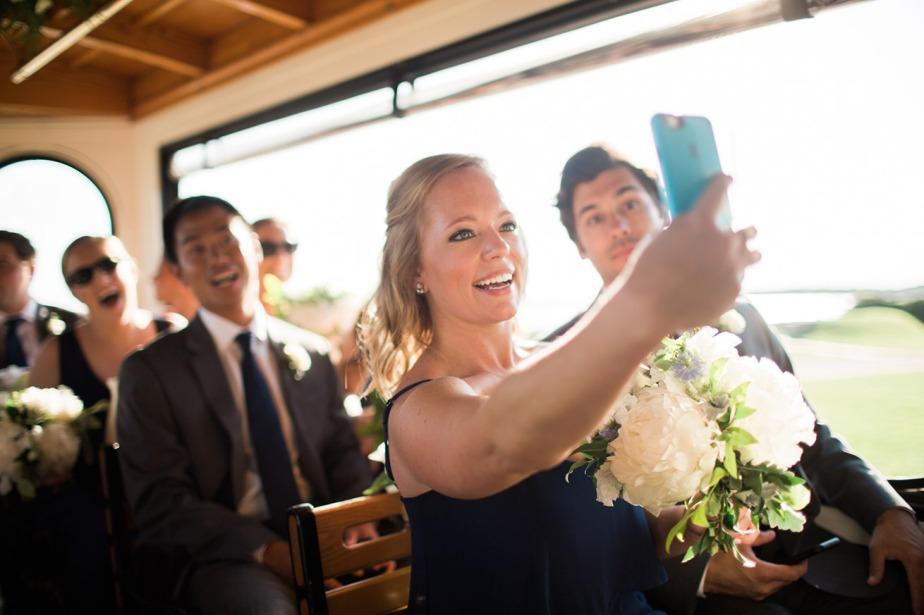 Kennebunkport Trolley Wedding