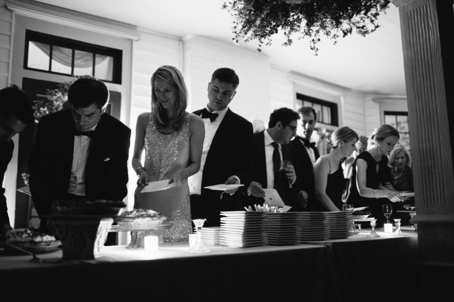 Pie Bar at Wedding