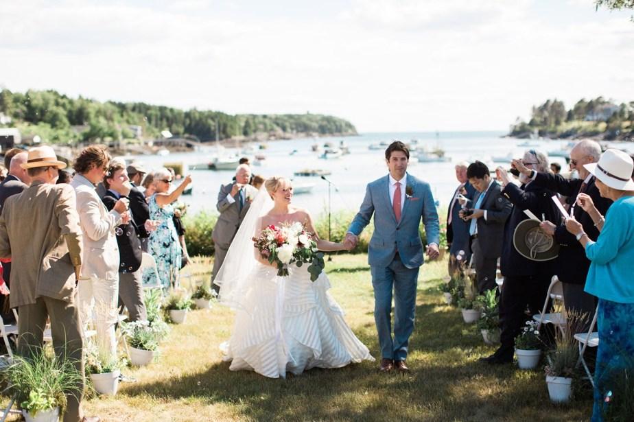 Bailey Island Maine Wedding