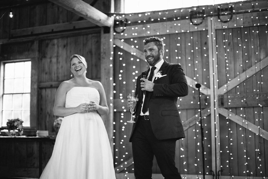 Barn at Flanagan Farm Wedding Reception