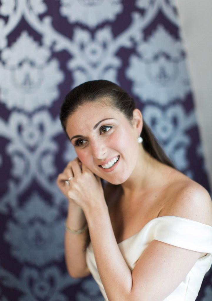 Bride at Camden Harbor Inn