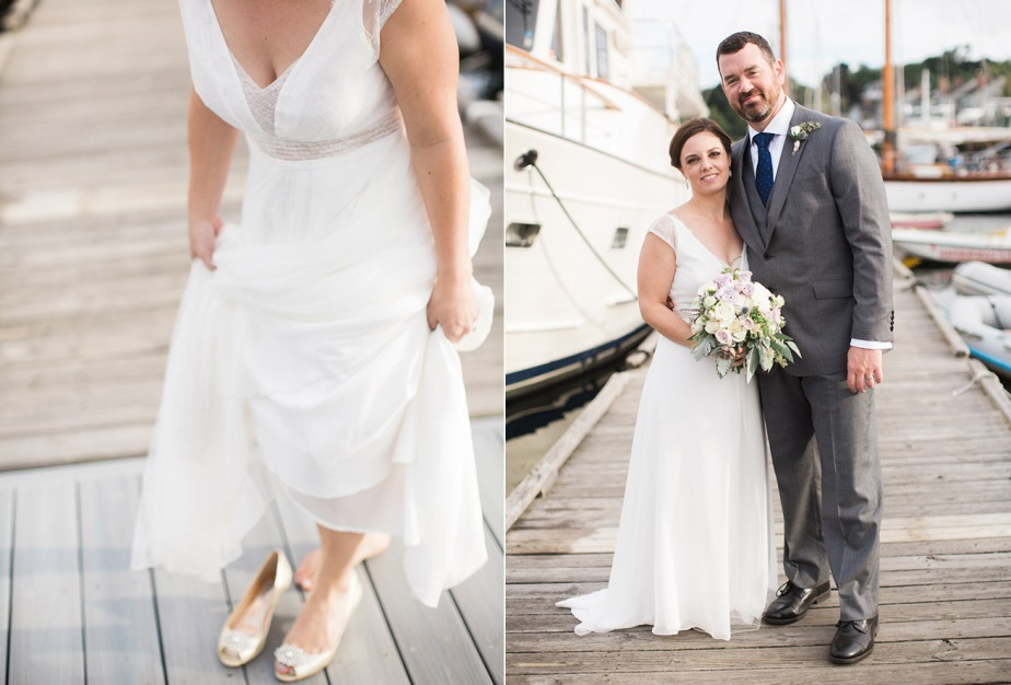 Camden Maine Yacht Club Wedding by Meredith Perdue
