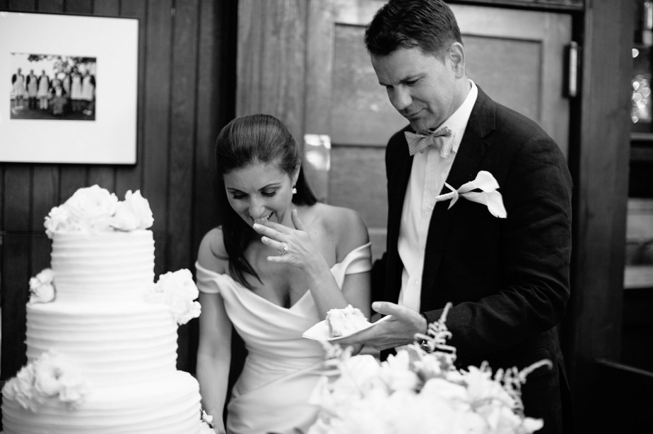 Camden Yacht Club Wedding Cake
