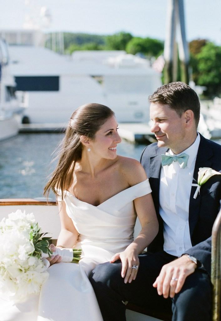 Camden Yacht Club Wedding Photos