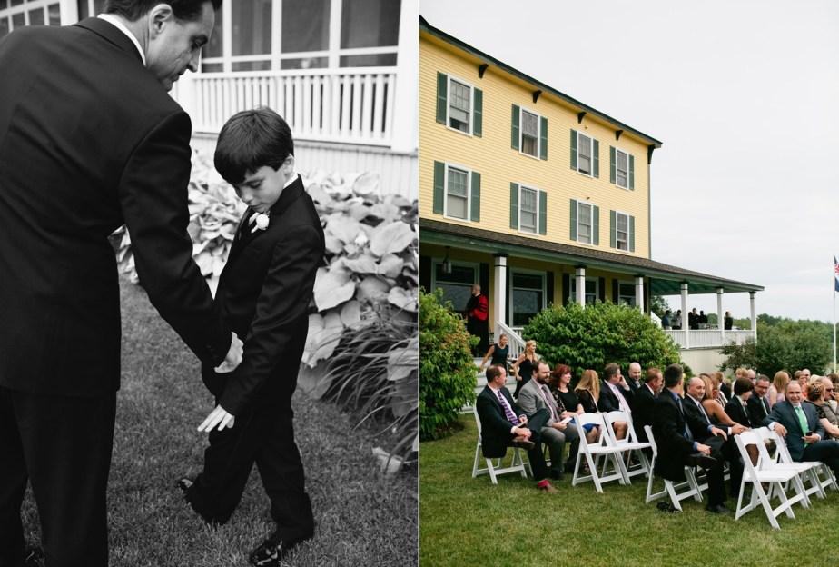 Chebeague Island Inn Wedding Ceremony