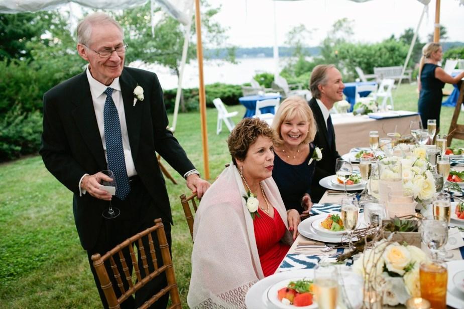 Chebeague Island Wedding Reception