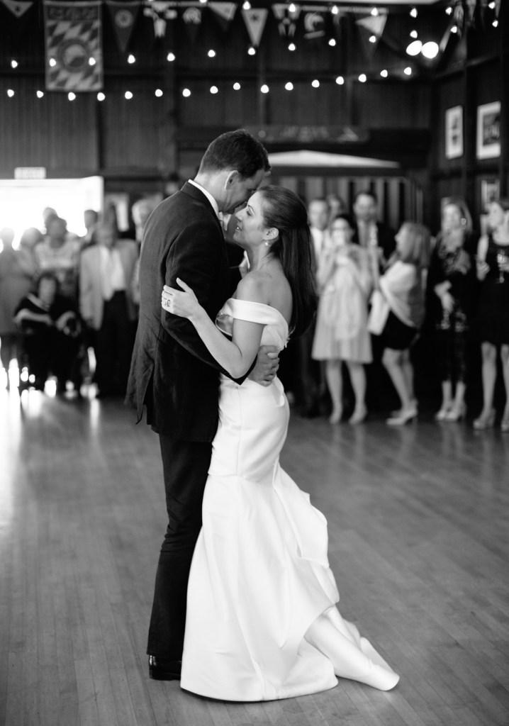 First Wedding Dance Camden Yacht Club