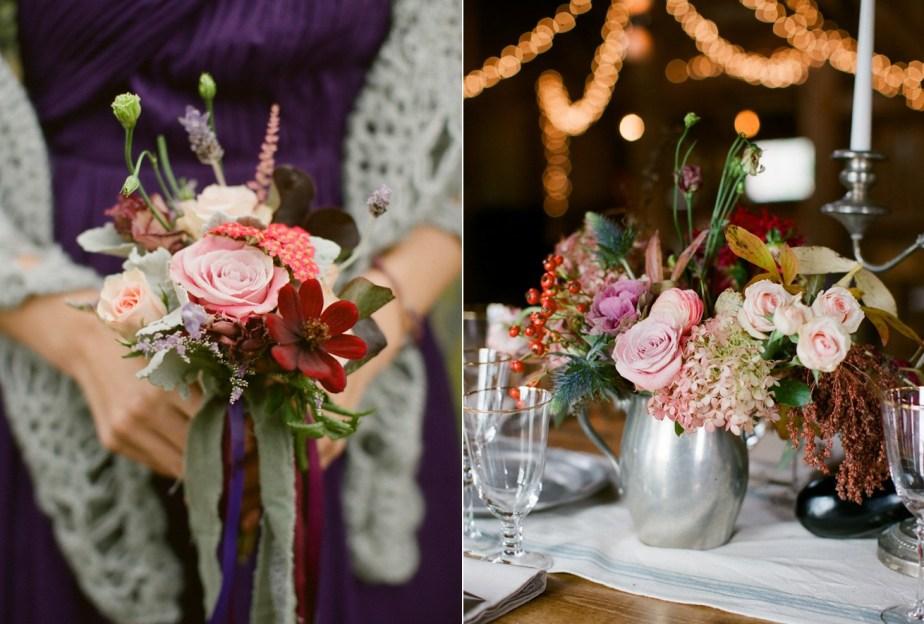 Flora Fauna Maine Wedding