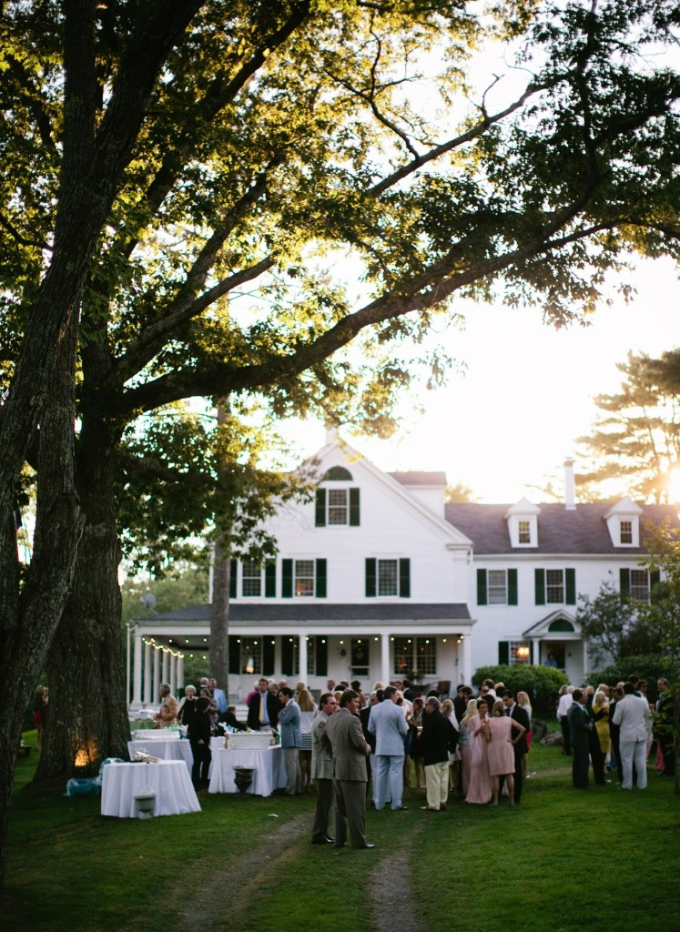 Waldoboro Maine Wedding Glenhurst