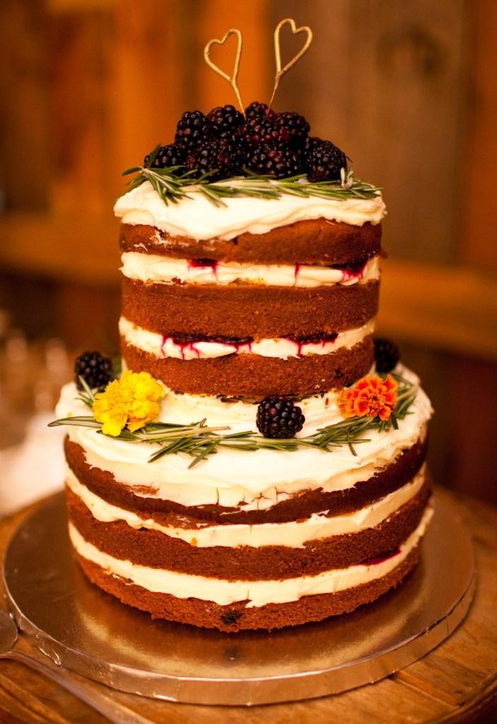 Katie Made Bakery Wedding Cake