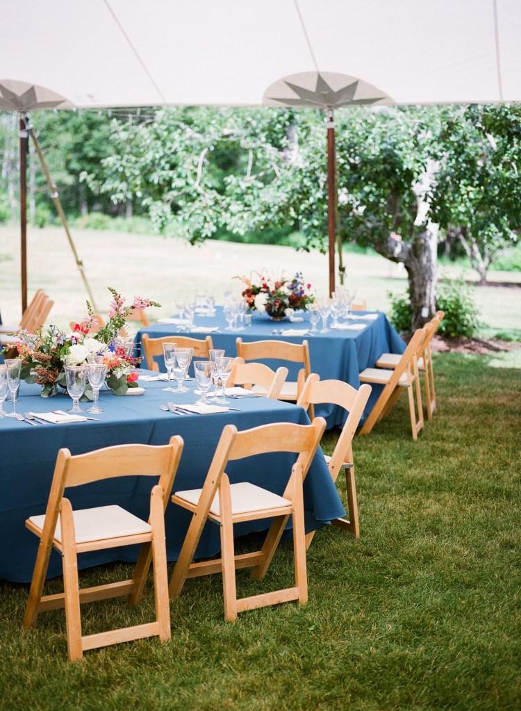 Live Well Farm Harpswell Wedding