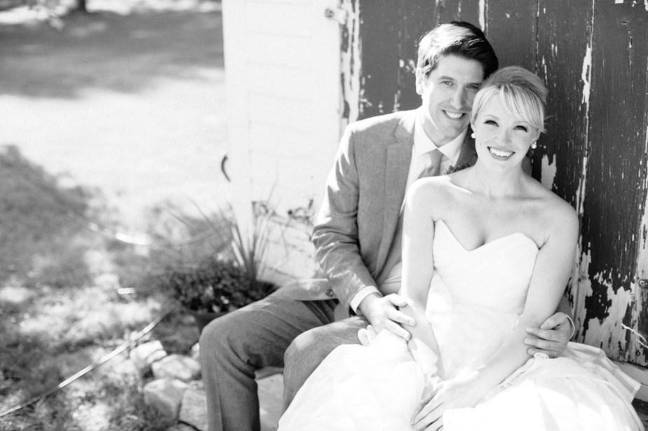 Live Well Farm Wedding Couple