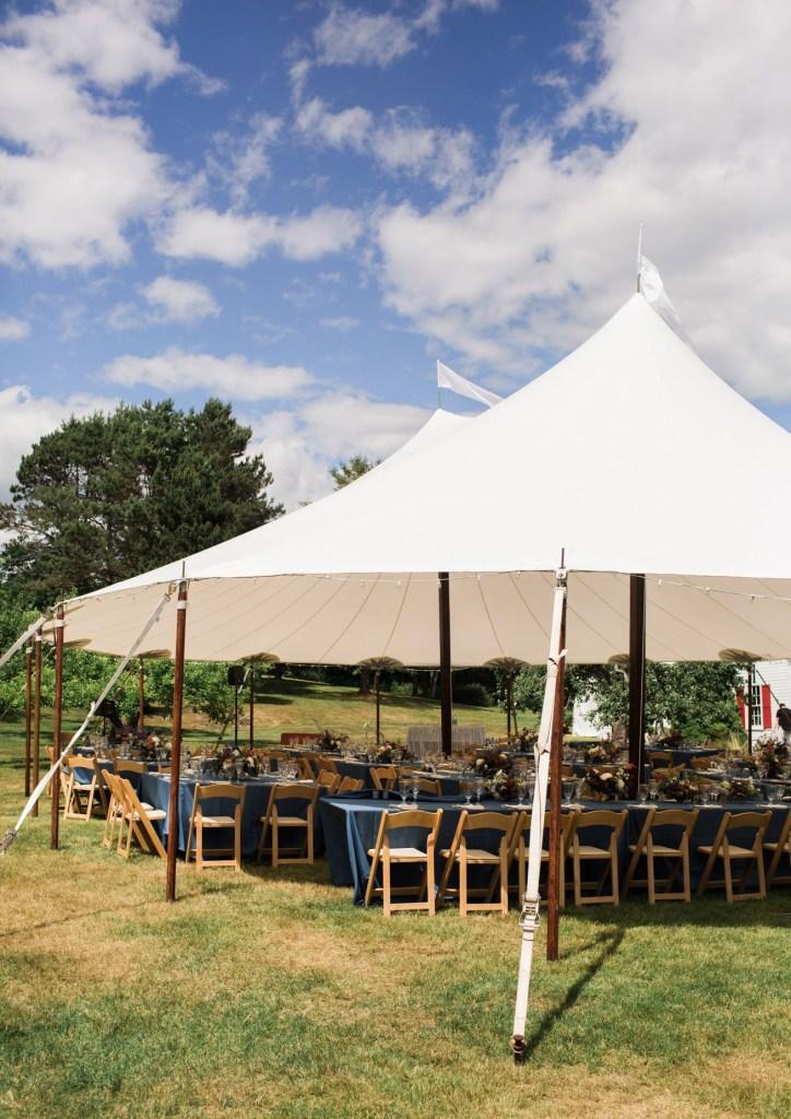 Live Well Farm Wedding Tent