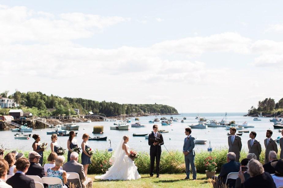 Mackerel Cove Bailey Island Wedding