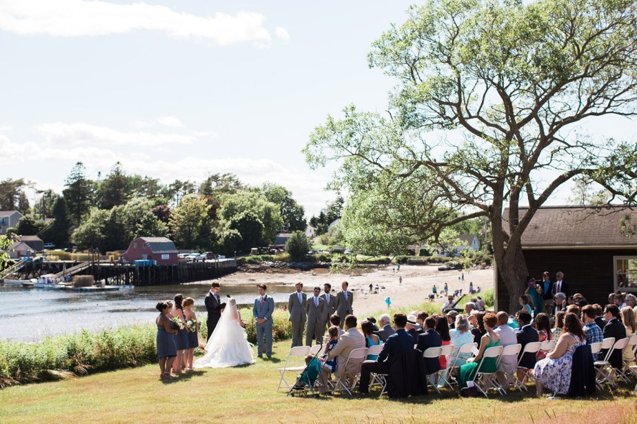 Mackerel Cove Weddings Bailey Island