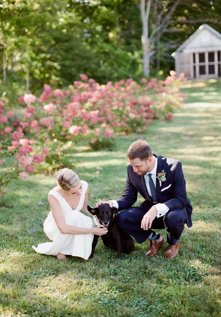 Marianmade Farm Wedding in Maine