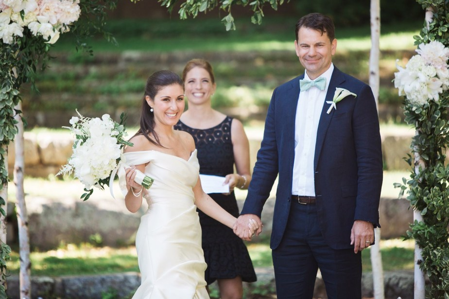 Nicole and Tom Wedding Maine
