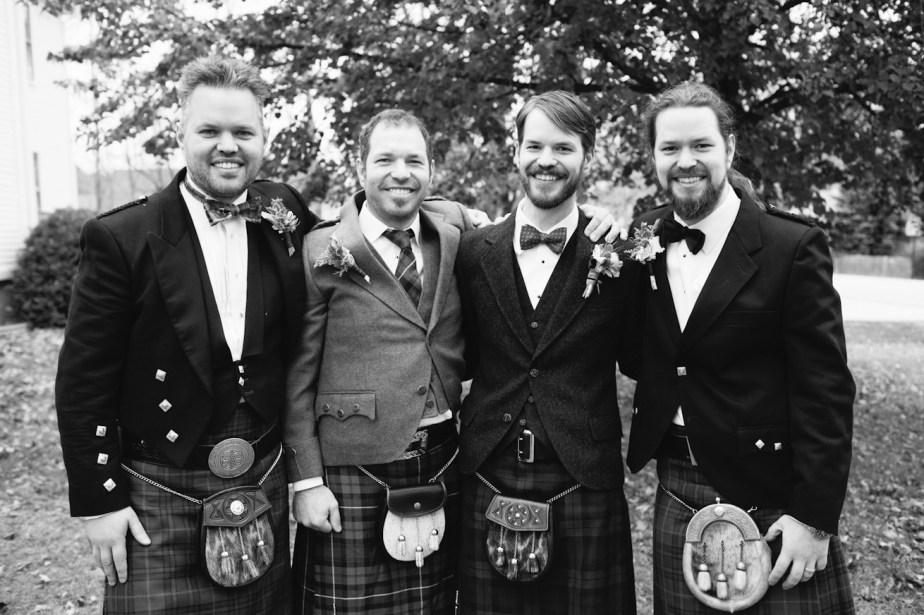 Scottish Groomsmen