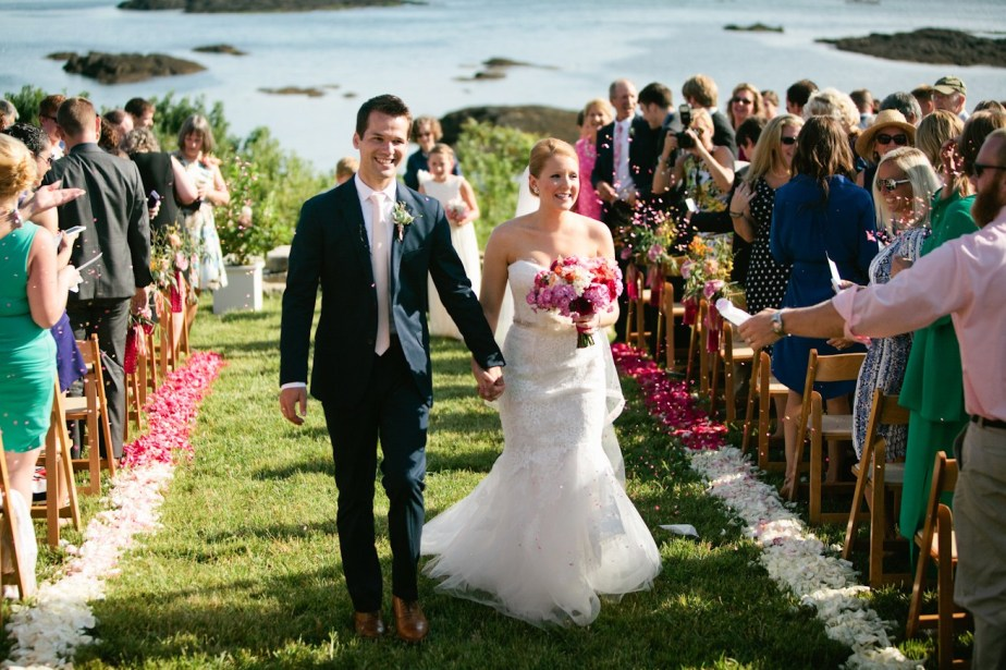 Southport Island Maine Wedding Ceremony