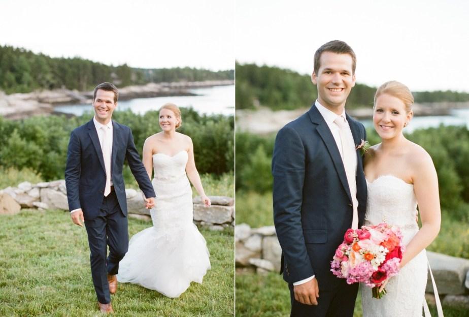 Southport Island Maine Wedding