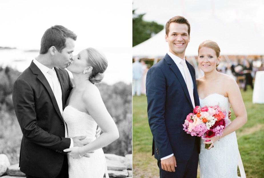 Southport Island Wedding
