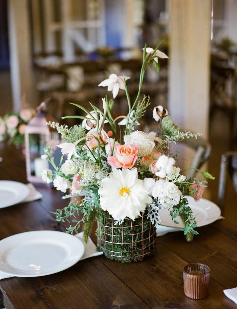 Terrain Baskets Wedding Arrangements