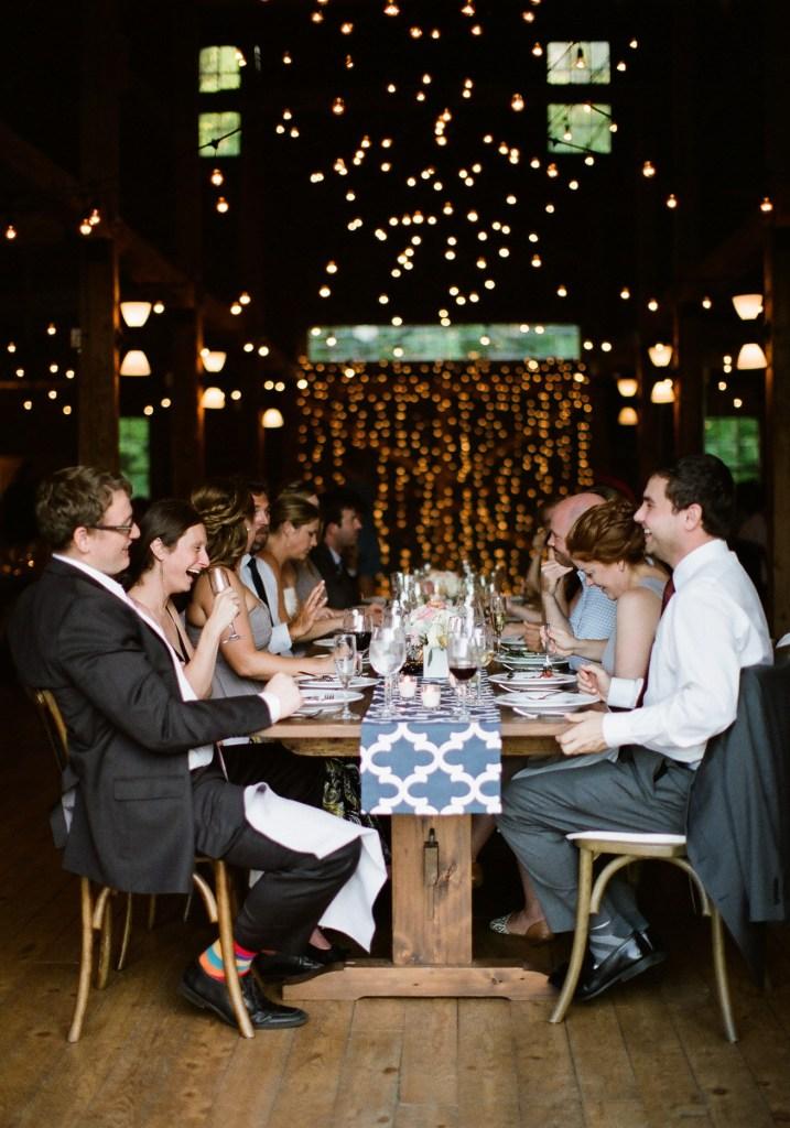 Wedding Dinner at Flanagan Farm