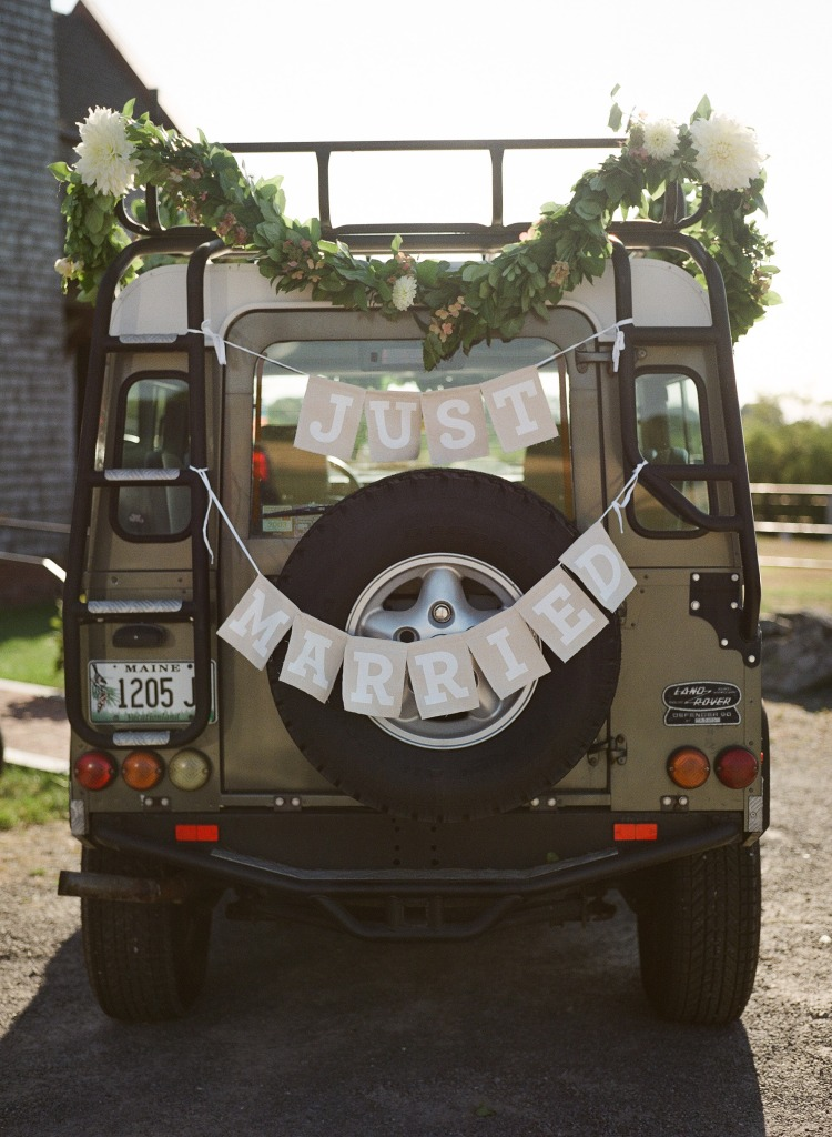 Wedding Land Rover Defender