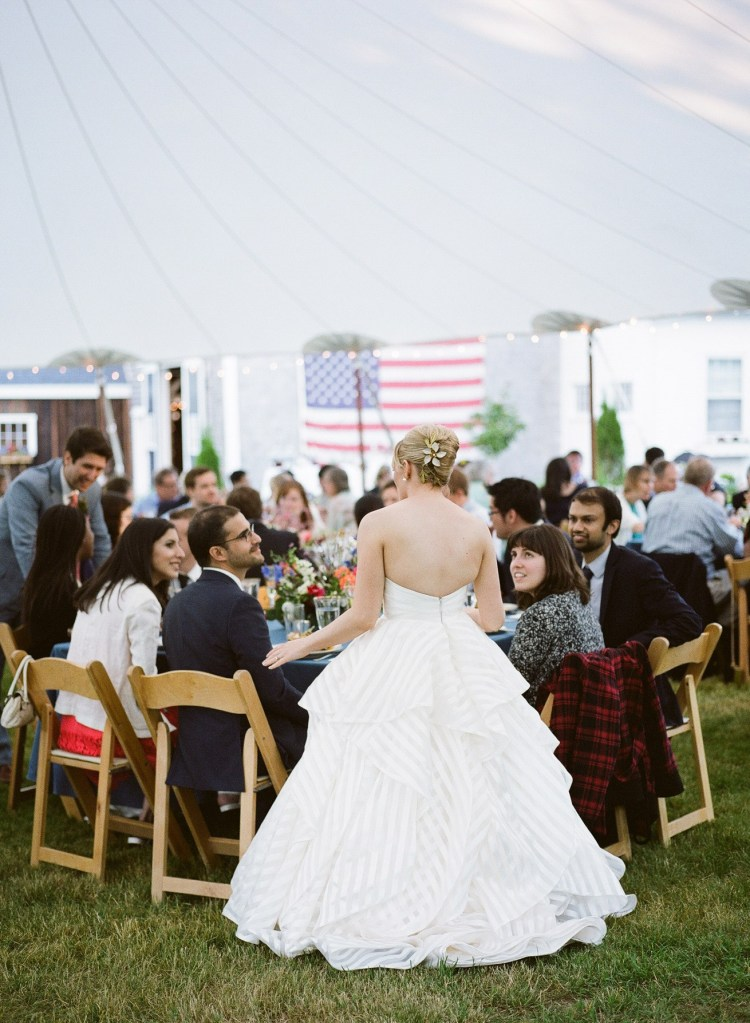 Wedding Receptions at Live Well Farm Maine