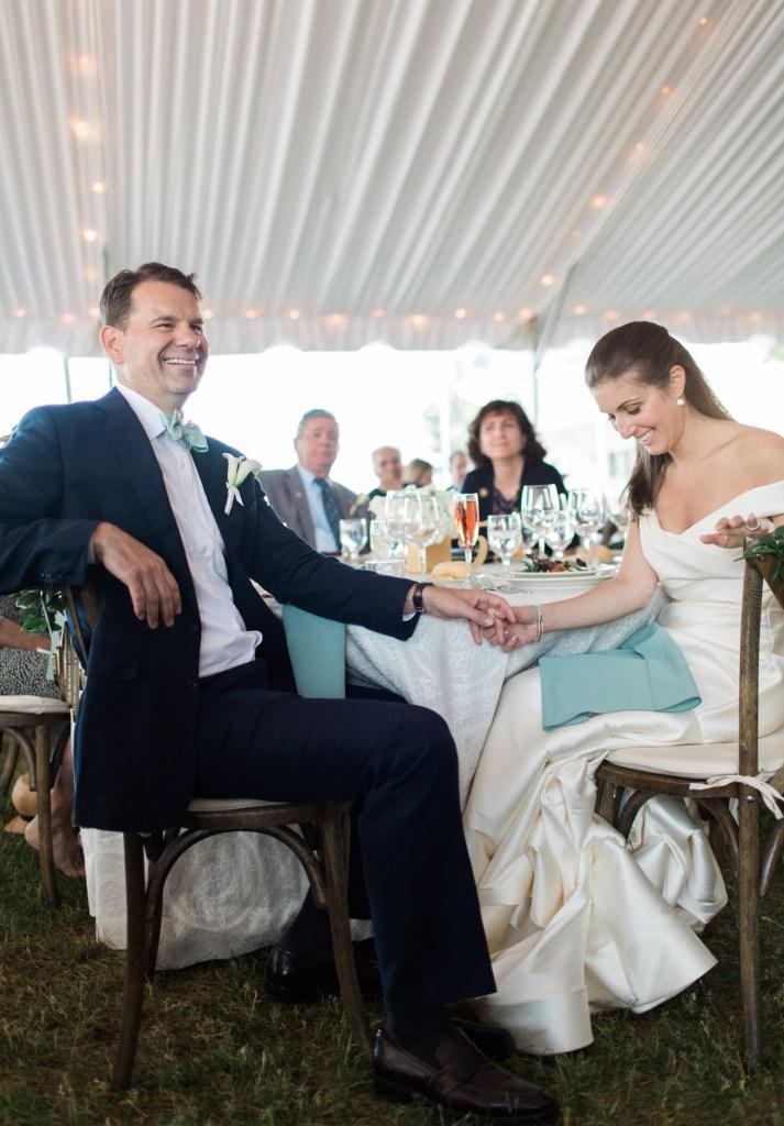 Wedding Toasts at Camden Yacht Club