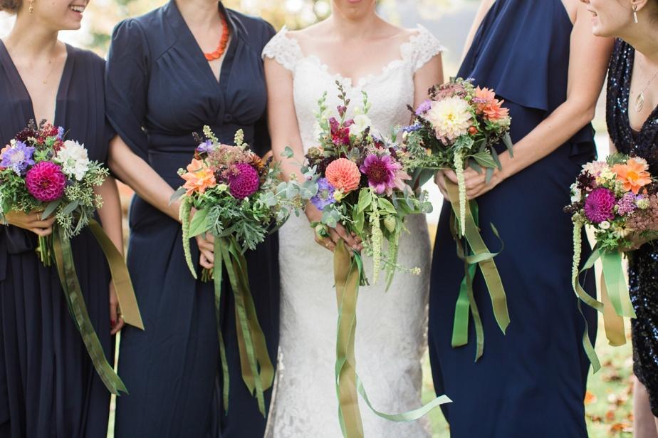 Belladonna wedding flowers maine